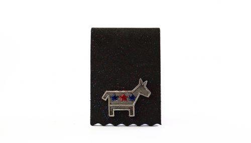 Democratic Donkey - Pewter
