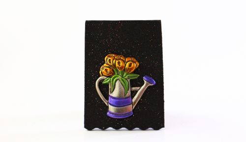 Watering Can - Yellow Flowers